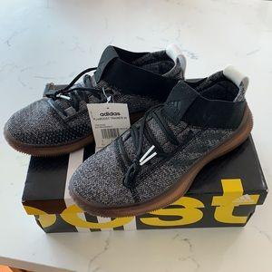 Adidas pureBOOST Trainer Shoe Grey Gum Sz6.5 NWT